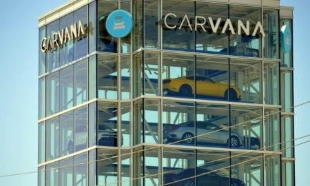 Carvana car vending tower