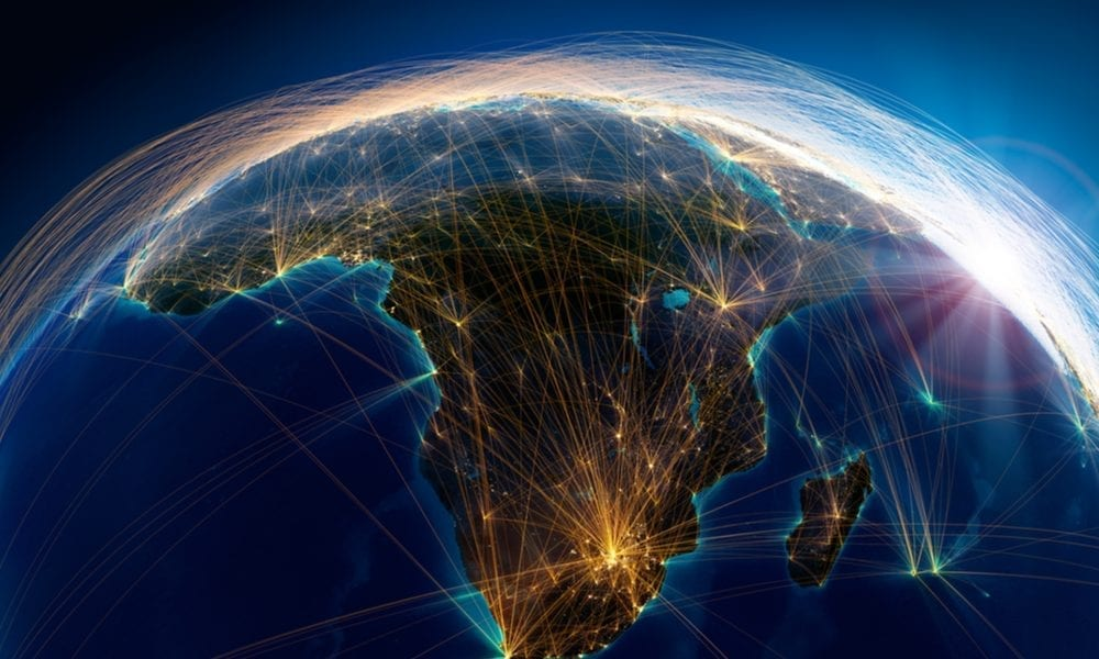 Earth Africa global connections
