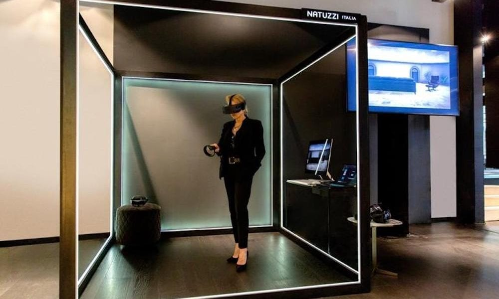 Design Bank Natuzzi.Fixing Furniture Friction With Vr And Holograms Pymnts Com