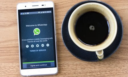 WhatsApp Pay on smartphone
