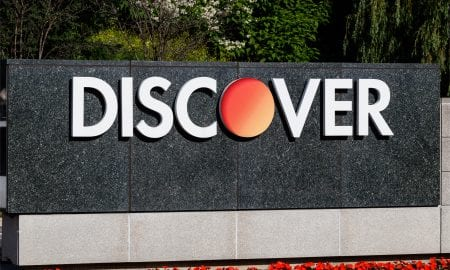 Discover card sign