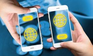 P2P payment on smartphones