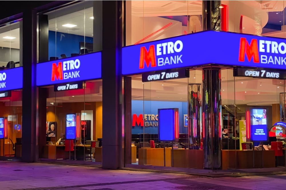 Rbs Fund Takes Back 50m From Metro Bank Pymnts Com