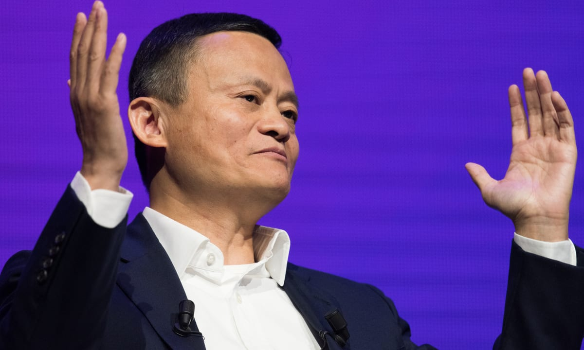 Jack Ma's comments